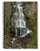 Alexander Falls - Whistler Bc Spiral Notebook