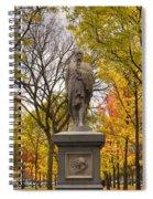 Alexander Hamilton Statue Spiral Notebook