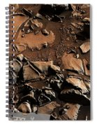 Alexander Hills Bedrock In Mars Spiral Notebook