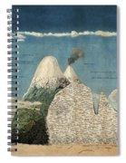 Alexander Von Humboldts Chimborazo Map Spiral Notebook