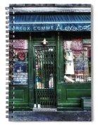 Alexandre Paris France Spiral Notebook