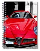 Alfa Romeo 1c Spiral Notebook