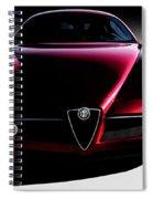 Alfa Romeo 8c Spiral Notebook