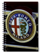 Alfa Romeo Badge Spiral Notebook