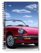 Alfa Spider Spiral Notebook