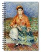 Algerian Girl Spiral Notebook