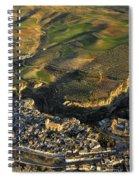 Alhama De Granada Volcanic Lands Spiral Notebook