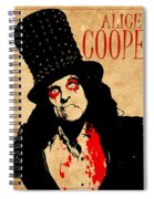 Alice Cooper 1 Spiral Notebook