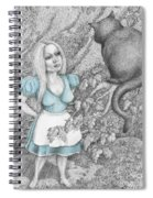 Alice Spiral Notebook