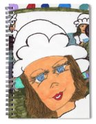 Alice The Waitress Spiral Notebook