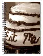 Alice's Eat Me Cake  Spiral Notebook