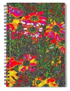 Alice's Garden Spiral Notebook