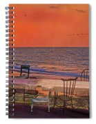 Alice's Topsail Island Tea Spiral Notebook