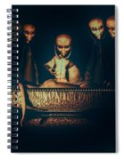 Alien Autopsy Alien Abduction Spiral Notebook