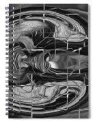 Alien Brain Spiral Notebook