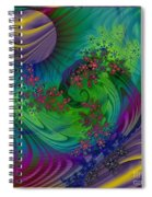 Alien Flora / Worlds Away Spiral Notebook