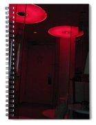 Alien Invasion. Hotel Citizenm. Amsterdam Airport Spiral Notebook