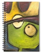 Alien King Spiral Notebook