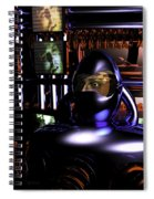 Alien Mind Control Spiral Notebook