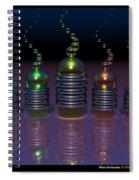 Alien Snowcone  Spiral Notebook