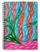 Alien Sun Dance Spiral Notebook