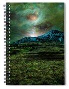 Alien World Spiral Notebook