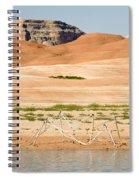 Alien Wreckage - Lake Powell Spiral Notebook