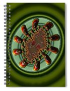 Aliens Feeding Phone Cases And Cards Spiral Notebook
