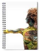 Alight A Sculpture By Adam Long Spiral Notebook