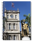 Aliiolani Hale And Kamehameha Spiral Notebook