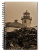 Alki Lighthouse Spiral Notebook