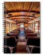 All Aboard Spiral Notebook