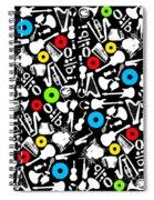 All Abut Music  Spiral Notebook