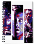 All-american 80's Action Movies Spiral Notebook