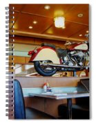 All American Diner 4 Spiral Notebook