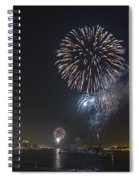 All At Once San Diego Fireworks Spiral Notebook