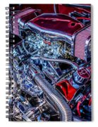 All Chromed Out Spiral Notebook