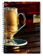 All Coffeed Out  Spiral Notebook