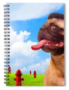 All Dogs Go To Heaven Spiral Notebook