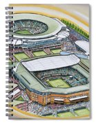 All England Lawn Tennis Club Spiral Notebook
