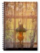 Lamp Light Glow II Spiral Notebook