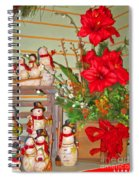All Good Wishes For Christmas Spiral Notebook