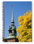 All Hallows By The Tower Spiral Notebook