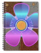All In With Colors Spiral Notebook