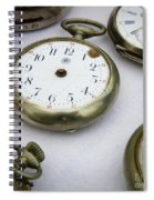 All Out Of Time Spiral Notebook