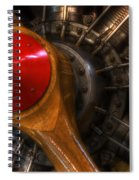 All Propped Up 2 Spiral Notebook