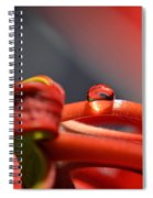All Red Spiral Notebook