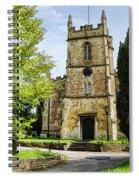 All Saints Church Weston Bath Spiral Notebook