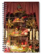 All Set For Christmas Spiral Notebook