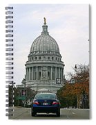 All Streets Lead To The Capital Spiral Notebook